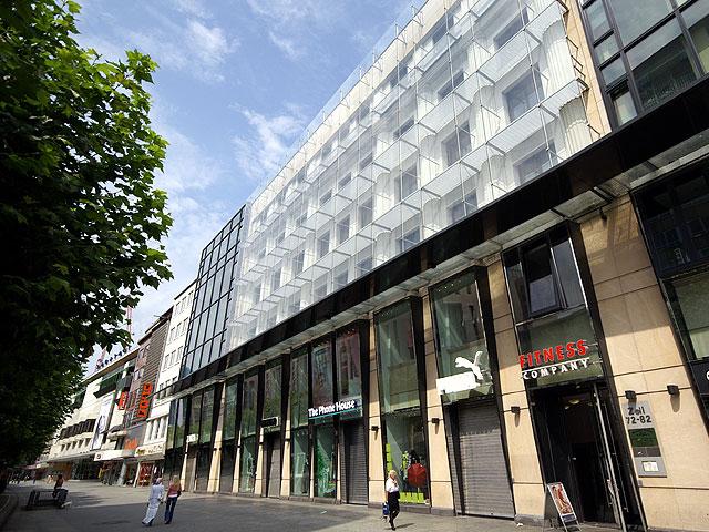 ehemaliges kaufhaus wronker an der zeil frankfurt am main architectura pro homine. Black Bedroom Furniture Sets. Home Design Ideas