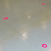Absteckung auf Boden