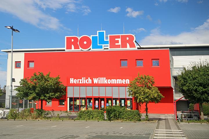 Möbelmarkt, Örtliches Aufmaß Mietfläche für Mietvertrag, Otto-Röhm-Straße, Darmstadt