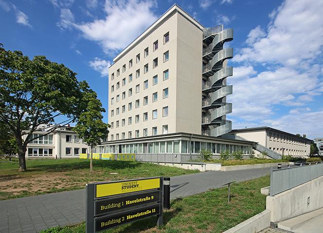 Studentenwohnheim Uni-Nest, Vermessungen für Revitalisierung Altbau, Havelstraße, Darmstadt
