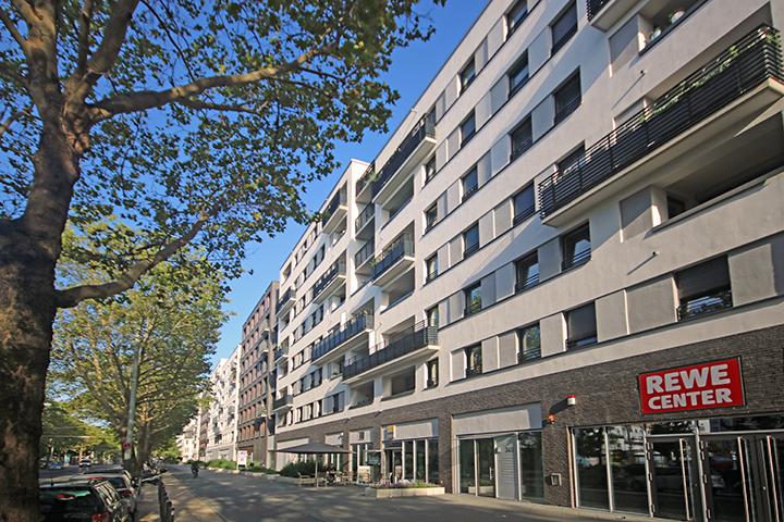 ALEA – Wohnbebauung und Geschäfte, Mainzer Landstraße, Neuenhainer Straße, Frankfurt, Bestandspläne Nachbarbebauung, Höhenpläne, Amtlicher Lageplan zum Bauantrag, Grundabsteckung nach Bauordnung, Gebäudeeinmessung nach HVGG, Mietflächenaufmaß für Läden nach DIN 277