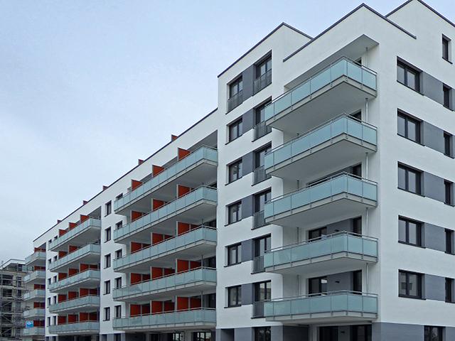 Wohngebäude Terminal 11 auf dem Flugfeld Böblingen - Aufmaß und Nachweis Wohnfläche, örtliches Kontrollaufmaß nach Fertigstellung, Dokumentation von Abweichungen