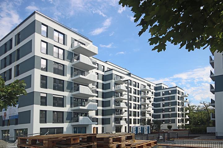 HELLO Darmstadt – 2 Wohngebäude, Robert-Bosch-Straße, Darmstadt, Kontrollaufmaß für ausgewählte Wohnungen vor Ort, Aufmaß und Nachweis nach Wohnflächenverordnung (WoFlV)