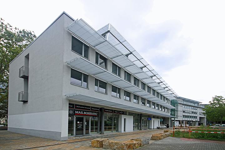 Büro- und Geschäftshaus, Konrad-Adenauer-Ring, Schiersteiner Straße, Wiesbaden, Örtliches Aufmaß Mietfläche für gewerblichen Raum nach gif, Aufteilung Gemeinschaftsflächen, Mietflächendokumentation für Mietvertrag