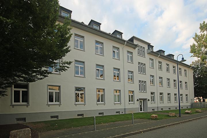 Örtliches Aufmaß Mietfläche nach gif, Nachweis und Aufteilung für Mietverträge, Walter-Hallstein-Straße, Wiesbaden